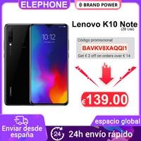 Global Version Lenovo K10 Note (Z6 Lite) 4GB 64GB Snapdragon 710 Octa Core Triple Back Cams 6.3 Inch 19.5:9 Water Drop 4050 mAh