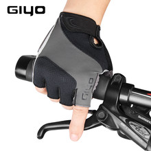 GIYO Bicycle Bike Gloves Half Finger Outdoor Sports Gloves For Men Women Gel Pad Breathable MTB Road Racing Cycling Gloves(China)