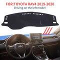 Smabee Dash коврик Dashmat для Toyota RAV4  2019  2020  XA50 RAV 4  Противоскользящий коврик для приборной панели  Солнцезащитный коврик  аксессуары для ковров