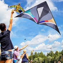 Outdoor Fun Sports 1.2m Power Nylon Power Kite  Triangle With handle And Flying Kite Line цена в Москве и Питере