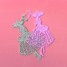 Красивые и модные женские металлические Вырубные штампы для