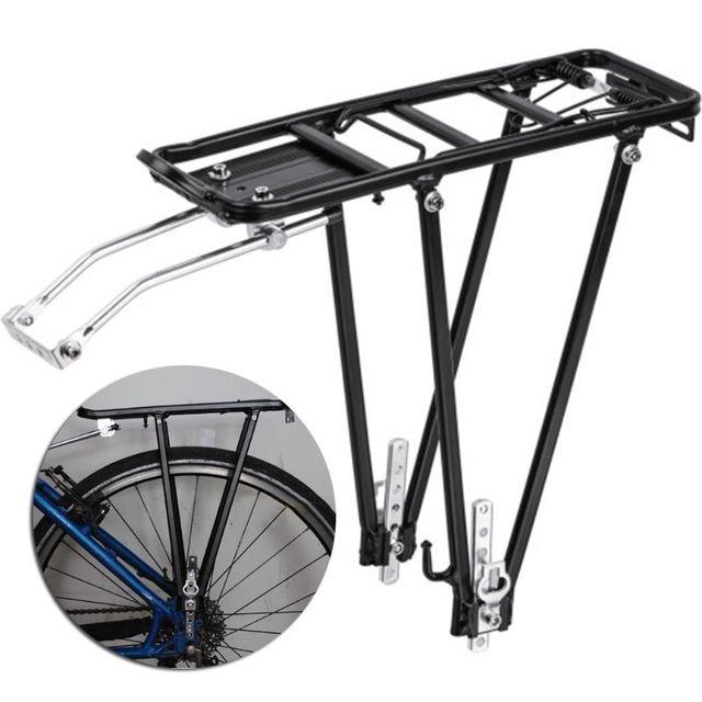Купить тяжелый велосипедный велосипед задняя полка из алюминиевого