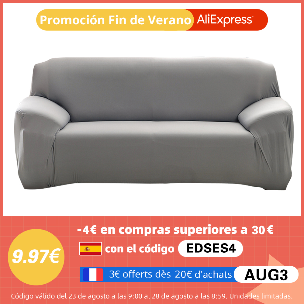 Elastic Plain Solid Coolazy Sofa Cover 1 Chair And Sofa Covers