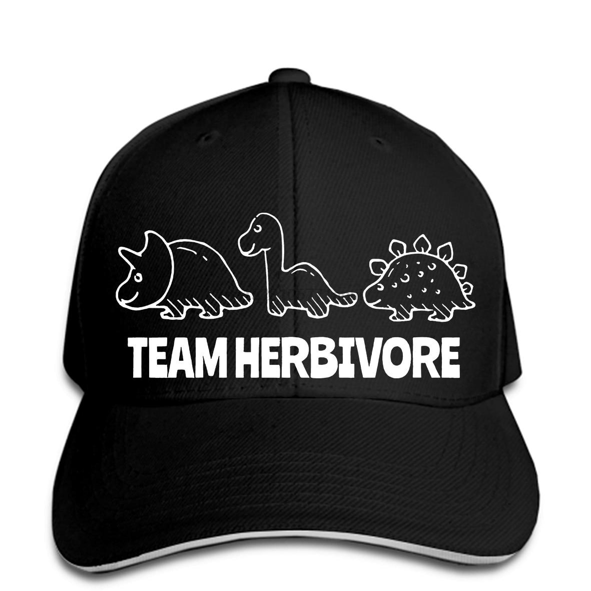 Baseball cap TEAM HERBIVORE Print hat EAT FRUIT EARTH ANIMAL LOVER VEGAN VIBES FASHION SWAG DOP