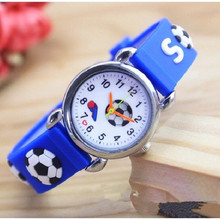 Children's Watches 3D Football Cartoon Watch Casual Boys Spo