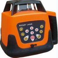 Auto-nivelamento rotativo/rotativo vermelho 360 laser rotativo hp203/controle remoto auto-rotação alta precisão nível laser 3d 600m escala