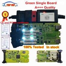 Лучшее качество,1 с keygen OBDIICAT-CDP Одиночная зеленая доска TCS сканер с Bluetooth диагностический сканер для автомобилей и грузовиков
