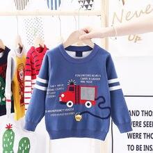 Осенний Детский свитер manboy 2020 с картонным рисунком детская