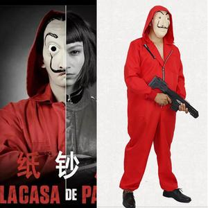 Paper House Costume Salvador Dali Cosplay The House Paper Costume Mask Party Halloween Role Playing(China)