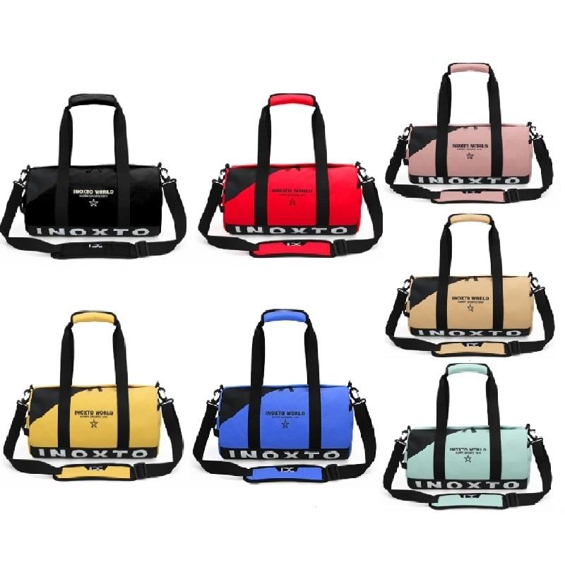 20L Portable Women Men Waterproof Gym Bags,Fitness Training Yoga Sports Bag Casual Shouler Pack Travelling Handbags 7 Colors