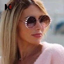 Женские венецианские солнцезащитные очки shauna круглые Брендовые