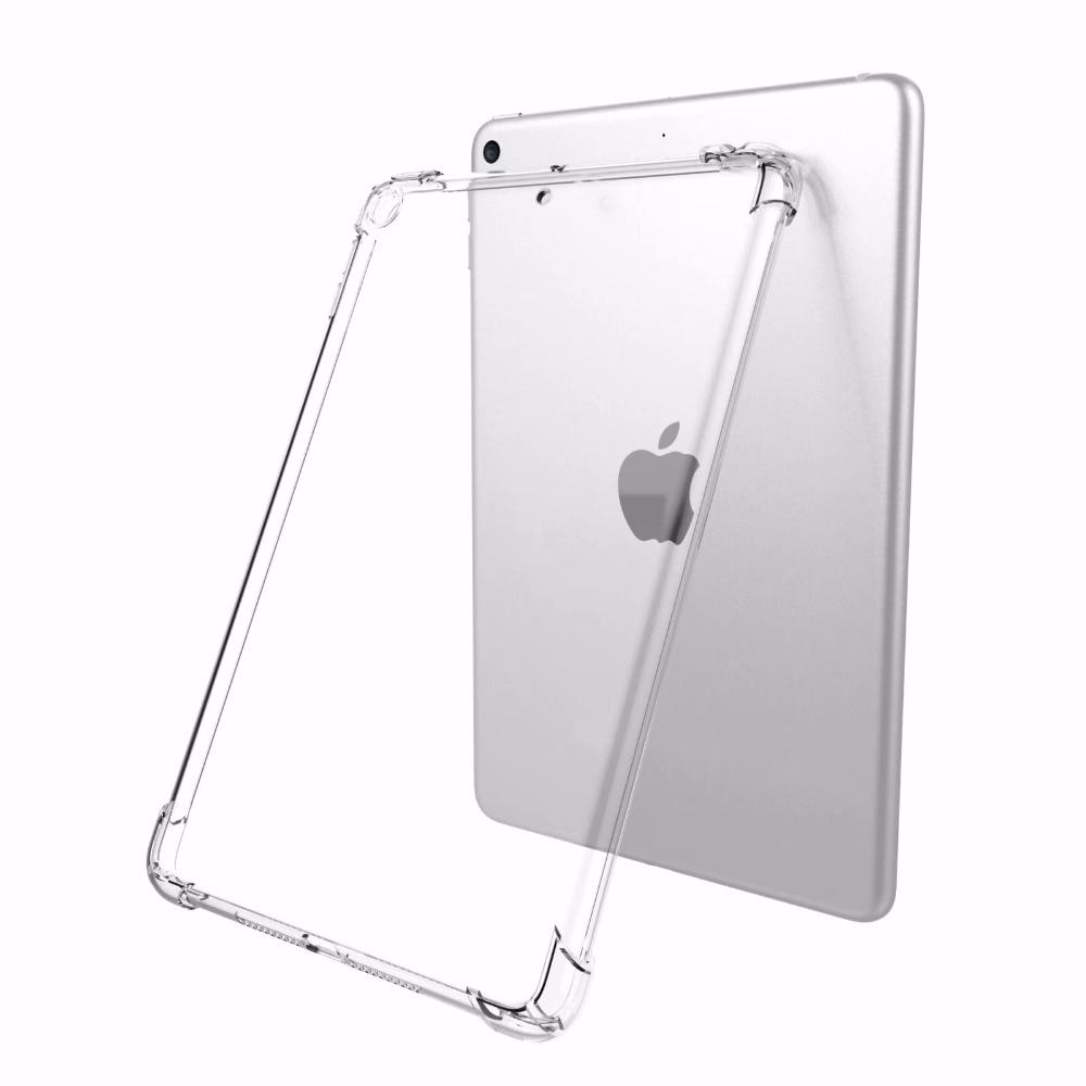 Soft Slim 2020 12.9 For Ultra iPad A1584 2017 2015 Cover A1652 Pro Silicone Case 2018