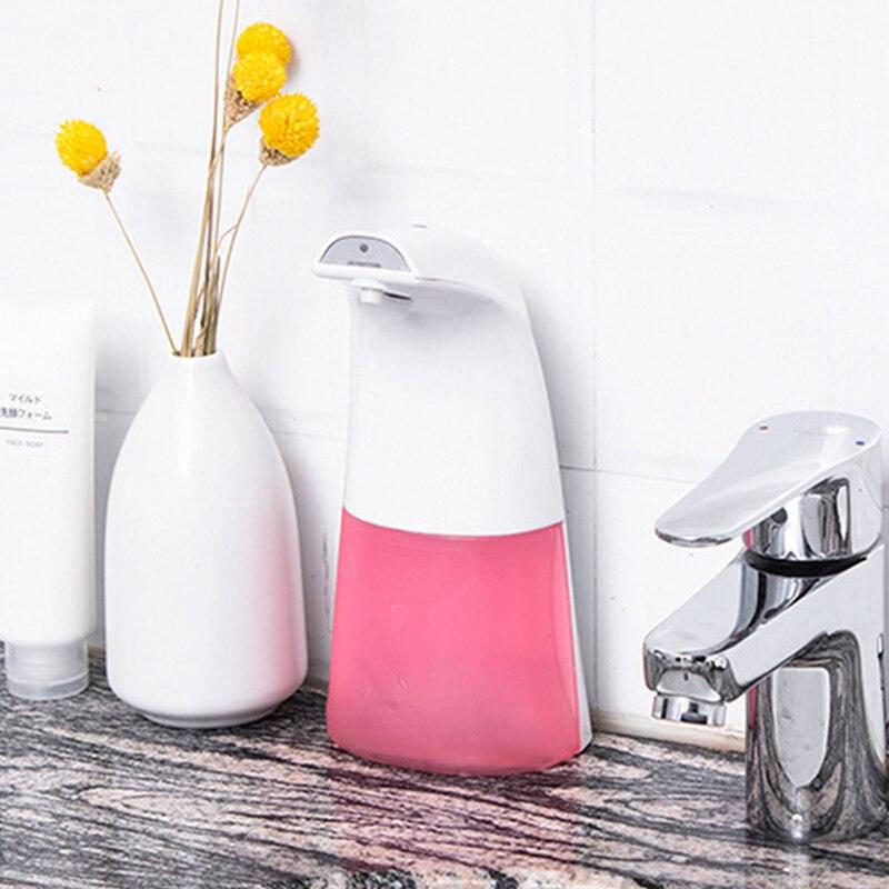 H9329c573ca90493bb106f6f7b6149e00O 250ml Automatic Induction Soap Dispenser Free Pressing Infrared Sensing Intelligent Soap Dispenser for Kitchen/Bathroom