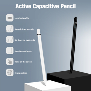 Image 2 - Active Stylus For Drawing Pencil for iPad Pro No Delay Capacitive Touch Pen for Smartphone Universal Android Tablet stylus pen
