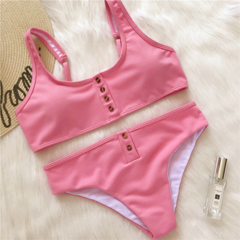 Sexy bikinis 2019 mujer Brazilian Bikini push up Bathing Suit swimwear women Swimsuit Female biquini swim suit Tankini biquine
