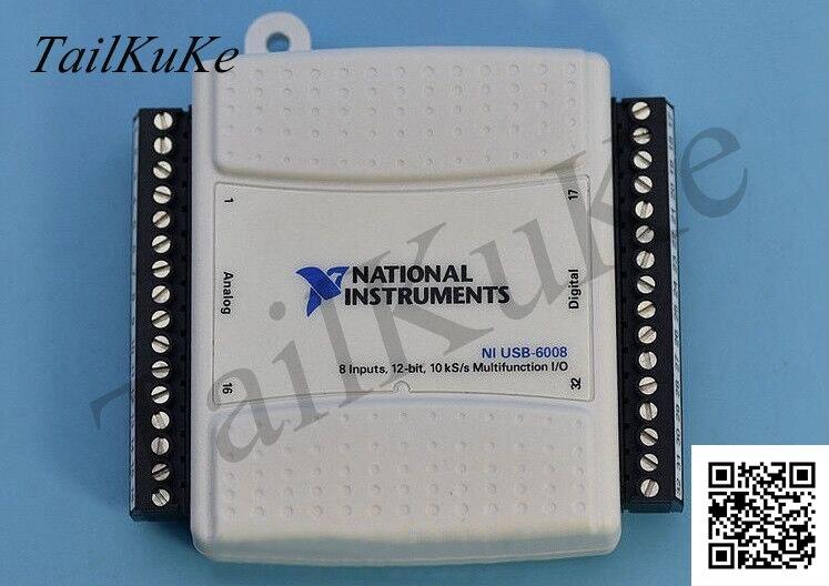 La carte dacquisition de données USB-6009 est entièrement Compatible avec le modèle Original américain NI USB-6009