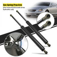 2 Pcs Rear Trunk Tailgate Lift Support Gas Springs Shock Strut Supports Rods For Lexus SC430 2002-2010