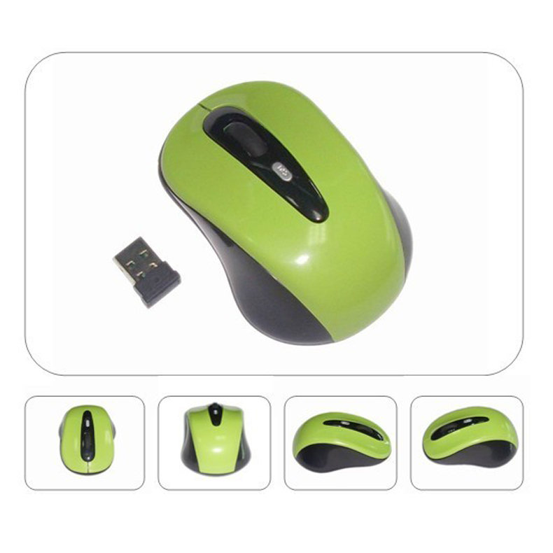Mini Small USB Wireless Mouse Optical Cordless Mice For Laptop Notebook PC GV99