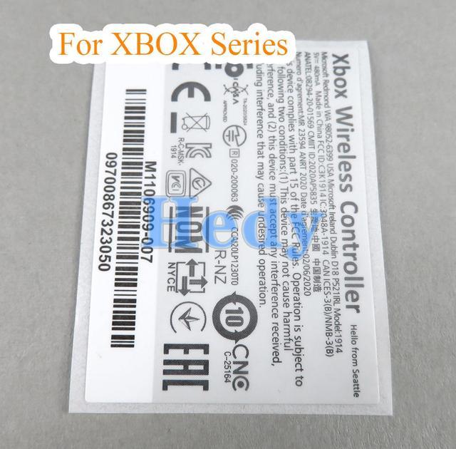 100PCS สำหรับ XBOX Series S X สติกเกอร์ผิวสติกเกอร์สำหรับ XBOX Series S X จับป้ายสติกเกอร์ controller