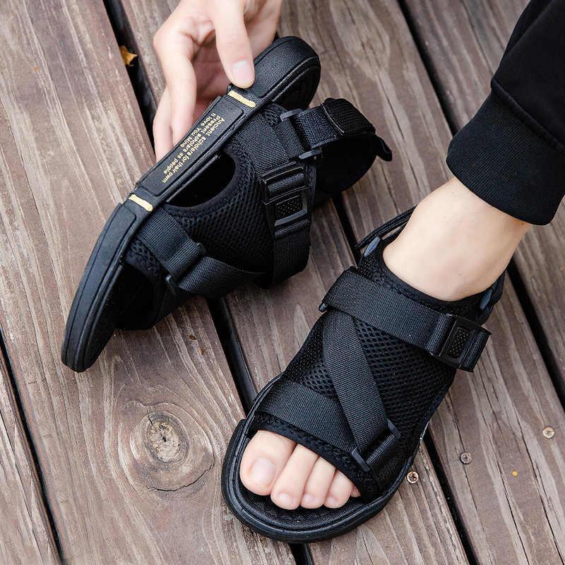 Couleur : Jaune, Taille : 38 EU Chaussures De Randonn/ée Ext/érieures Respirantes Antid/érapantes Et Respirantes Confortable Sandales pour hommes Antid/érapant