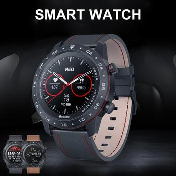 Round Touch Screen Smart Watch Dial Bluetooth 5.0 Heart Rate Monitor For New 2020 Health Manager Easy To Use And Wear
