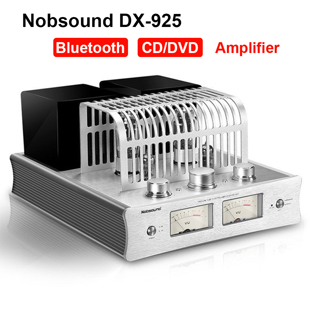 Nobsound DX-925 Amplifier Hi-Fi Power Amplifier tube Hybrid Single-Ended Class A Power Amp AMP Bluetooth Amplifier image