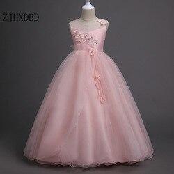 2020 crianças vestidos de renda para meninas roupas de verão vestido de festa vestido de princesa 5 6 8 9 12 14 anos vestido de aniversário