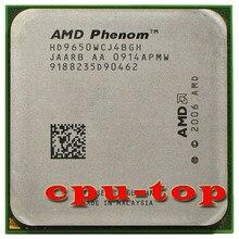 Бесплатная доставка, четырехъядерный процессор AMD Phenom X4 9650 для настольного компьютера, 2,3 ГГц, HD9650WCJ4BGH, Разъем AM2 +/940pin