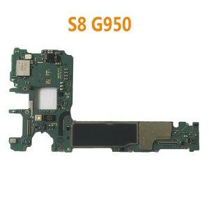 Image 3 - BINYEAE Gốc 64GB Cho Samsung Galaxy S8 G950F G950FD G950U Chính Bo Mạch Chủ Mở Khóa IMEI Knox 0*0