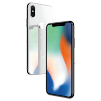CN/RU Apple Used iPhone X With Face ID 64GB/256GB ROM 5.8'' Mobile Phone 3GB RAM 12MP Hexa Core iOS A11 Dual Back Camera 4G LTE 1