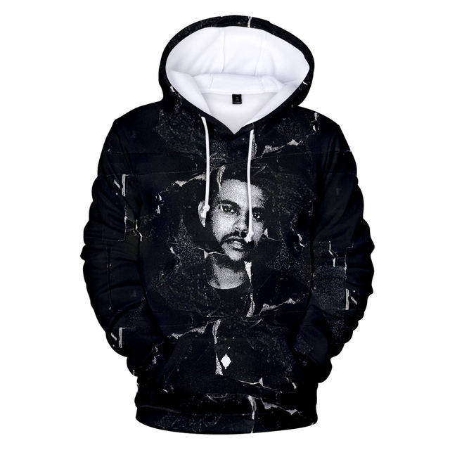 3D THE WEEKND THEMED HOODIE