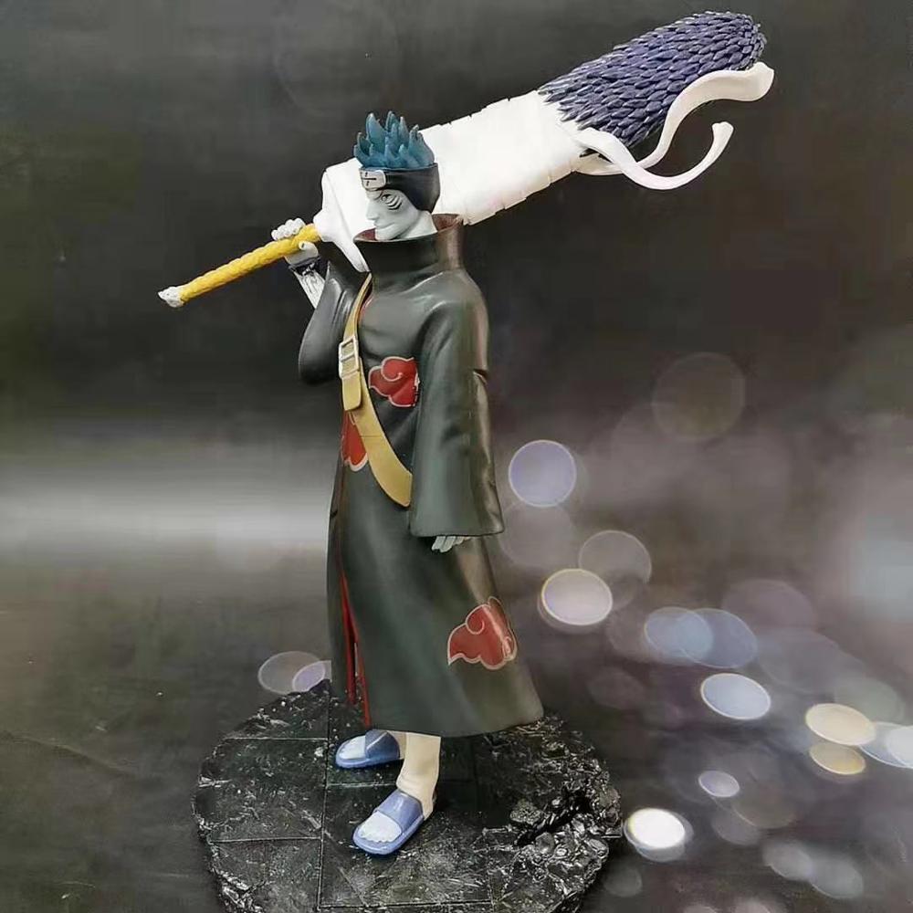 Free Shipping Naruto Hoshigaki Kisame Figure Naruto Shippuden Action Figure Model PVC Konoha no Kedakaki Aoi Moju Toys B19 5