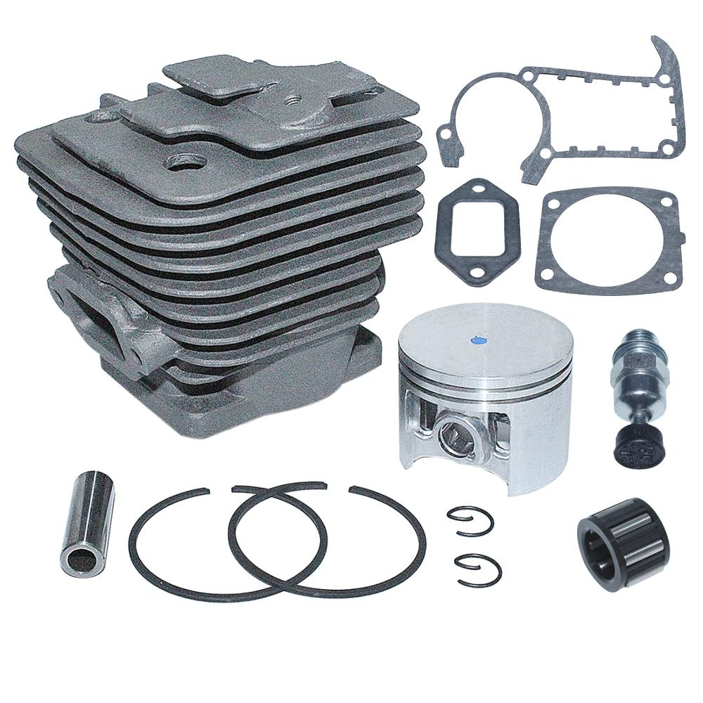 Tools : Big Bore 49mm Cylinder Nikasil Piston Decompression Gasket Kit For Stihl MS361 Chainsaw Replace 1135 020 1202