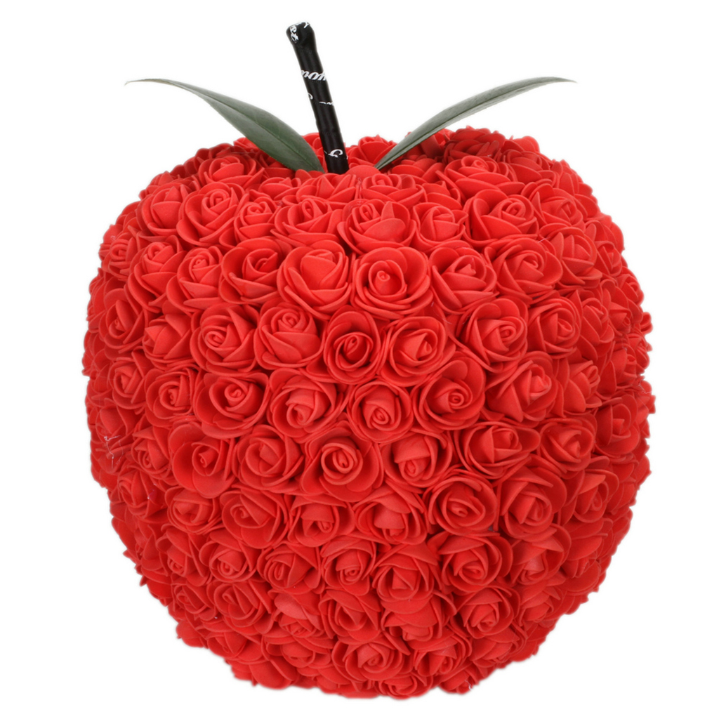 <font><b>20</b></font>/30cm Foam Apple Shape Artificial Rose Flowers DIY Wedding Home Decorations Birthday Love Valentine's <font><b>Day</b></font> Gift image