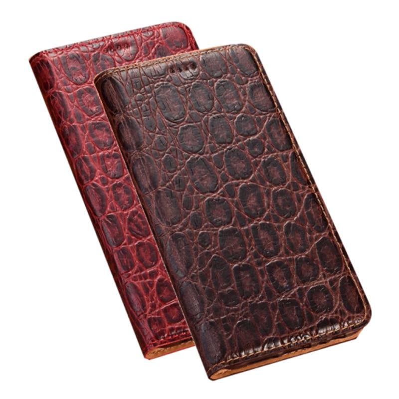 Genuine Leather Magnetic Phone Holster Case For NOKIA 5.4/NOKIA 3.4/NOKIA 2.4 Magnetic Phone Cover Coque Card Slot Holder