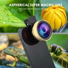 2 In 1 0,45 X Weitwinkel Objektiv & 12,5 X Makro Len Universal Telefon Fall Für IPhone 12 11 pro Max XS XR X 8 7 6 6S Plus SE 2020 Abdeckung
