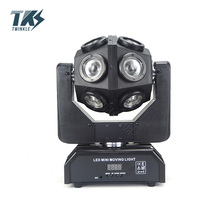 LED Disco Light With 12pcs 10W Infinite Rotate Good ktv par Effect Ball Moving Head DJ lights Party