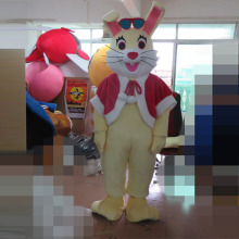 Rabbit mascot costume rabbit adult cartoon set