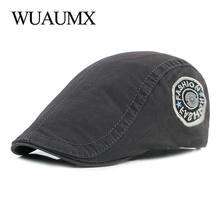 Wuaumx унисекс модные летние береты шапка для мужчин и женщин