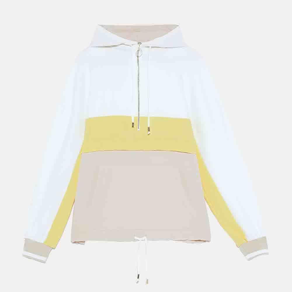 2019 ZA New Stitching Hooded Sweatshirt Women in Autumn Winter Casual Fashion Boho Sweatshirt Party Travel Vacation Wholesale