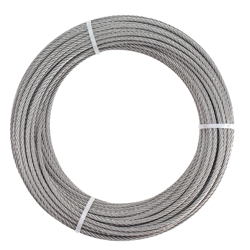 1/8 Inch T316 Marin Grade Stainless Steel Aircraft Wire Rope Cable For Railing, Decking, DIY Balustrade