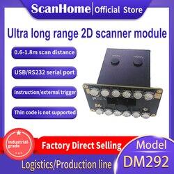 ScanHome moduł skanera kodów kreskowych 1D 2D QR PDF417 DataMatrix 0.5m-2m daleki zasięg skanowania DM292