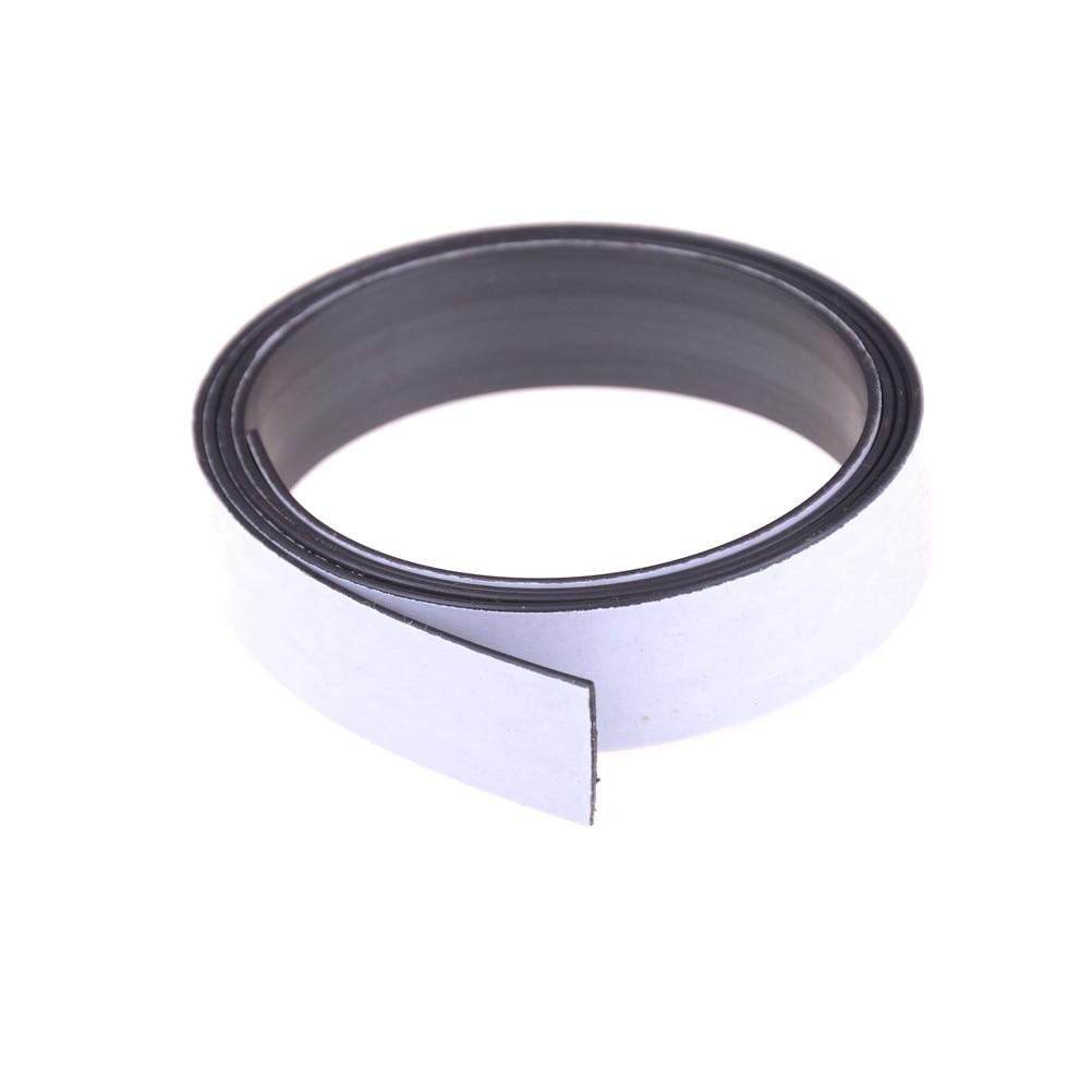 1 Meter/los Anisotropie Gummi Magnet 10*1mm mit 3M self Adhesive Flexible Magnetische Streifen Magnet Band breite 10mm dicke 1mm