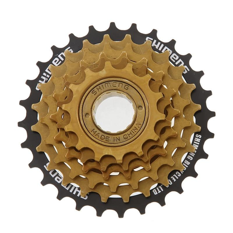 Bicycle 6 Sufei Round Mountain Bike Rear Flywheel 6 S Gear Highway Folding Bicycle Variable Speed Freewheel