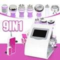 9 в 1 многофункциональная ультразвуковая косметическая машина микроcurent вакуумная Rf машина для похудения лица