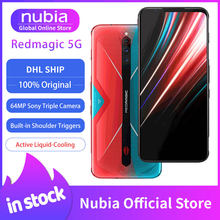 Global Versie Nubia Red Magic 5G Mobilephone 6.65 Inch 8/12Gb Ram 128/128Gb Snapdragon 865 Android 10 Gaming Telefoon