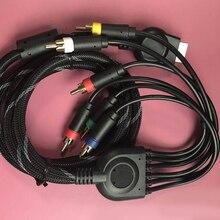Cable AV de Sonido de TV accesorios de vídeo multisalida plomo 1,8 m 1080p juego HD Audio conectar Cable componente para consola Sony