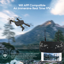 E58 RC Drone with 4K HD Camera WIFI Altitude Hold Selfie Drone Folding RC Quadrocopter Toy For Children f14893 g diy rc drone quadrocopter x4m380l frame kit qq super motor esc props
