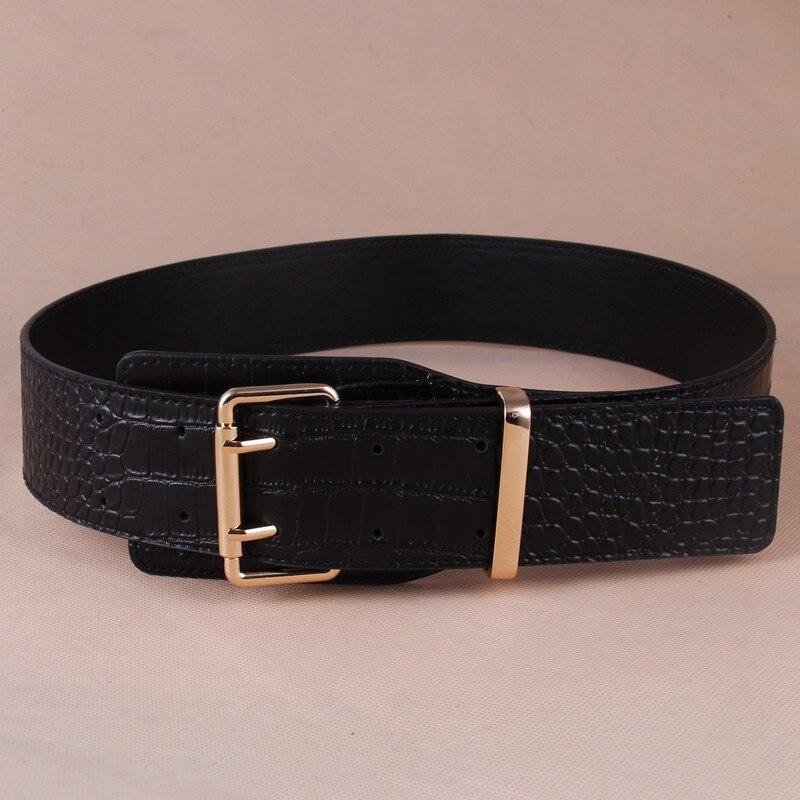New Women Ultra-wide Belt Woman's Fashion Double Needle Obi Wholesale Fashion Coat Belt Belt Waist Decoration Obi Versatile