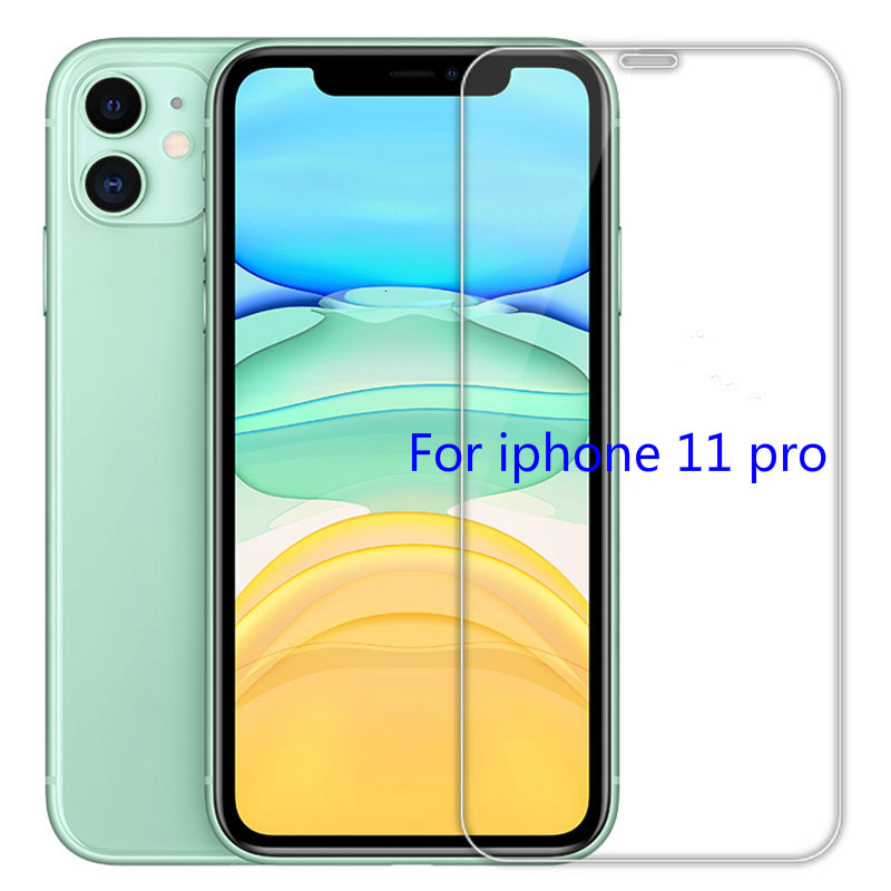 Tempered Glass For IPhone11 Pro X XS Max XR 5 5S SE Screen Protector For IPhone 8 6 6S Plus 4s Protective Film For Iphone 7 Plus